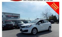 Trans Manual 2014 Kia Rio LX has power locks/windows/mirrors, steering wheel media controls, CD player, SIRIUS radio, AM/FM stereo, USB connection and so much more! STK # 62027A DEALER #31228 Need to finance? Not a problem. We finance anyone! Good credit,