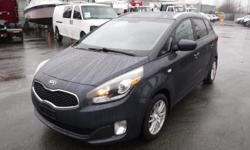 Make Kia Model Rondo Year 2014 Colour Blue kms 155745 Trans Automatic Stock #: BC0030790 VIN: KNAHT8A35E7011394 2014 Kia Rondo FX 7 Passenger, 2.0L, 4 cylinder, 4 door, automatic, FWD, cruise control, air conditioning, AM/FM radio, CD player, auxiliary