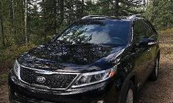 Make Kia Colour Black Trans Automatic kms 48036 3 years old SUV with one owner (lady driven). Comes with heated front seats, satellite radio, A/C, cruise control, voice command, active Eco system, usb/aux, Bluetooth, parking rear sensor, front fog lights