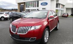 Make Lincoln Model MKX Year 2014 Colour Ruby Red Tinted Clearcoat kms 49734 Trans Automatic Price: $27,223 Stock Number: 190391 VIN: 2LMDJ8JK0EBL13830 Interior Colour: Black Leather Engine: 3.7L V6 DOHC Engine Accident free, One Owner, Low KMS, Adaptive