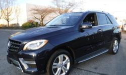 Make Mercedes-Benz Model M-Class Year 2014 Colour Black kms 60930 Trans Automatic Stock #: BC0030771 VIN: 4JGDA2EB5EA308203 2014 Mercedes-Benz M-Class ML350 BlueTEC, 3.0L, 6 cylinder, 4 door, automatic, 4WD, 4-Wheel AB, cruise control, AM/FM radio, CD