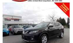 Trans Automatic This 2014 Nissan Rogue SV comes with alloy wheels, fog lights, tinted rear windows, roof rack, running boards, power locks/windows/mirrors/seats, steering wheel media controls, push start engine, panoramic sunroof, Navigation, backup
