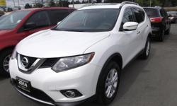 Make Nissan Model Rogue Year 2014 Colour WHITE kms 38000 Trans Automatic 2014 NISSAN ROGUE SV AWD FOR SALE.... ONE OWNER....LOCALLY OWNED...NOT AN EX-RENTAL....POWER SEAT...HEATED SEATS....MASSIVE SUNROOF....PUSH BUTTON START...XM RADIO....REAR
