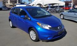 Make Nissan Model Versa Note Colour blue Trans Automatic kms 28700 2014 Nissan Versa Note 4Dr.Hatchback 4cylinder, CVT transmission, A/C, power windows & door locks, stereo/backup camera, local car, mature owner previously, dealer maintained, 28,700Kms,