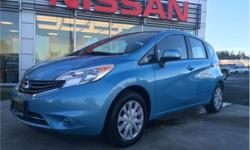 Make Nissan Model Versa Note Year 2014 Colour Blue kms 86446 Trans Automatic Price: $10,847 Stock Number: K18015A VIN: 3N1CE2CP2EL394147 Interior Colour: Black Engine: 1.6L Inline4 Engine Configuration: Inline Cylinders: 4 Fuel: Regular Unleaded Power