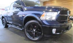 Make Ram Model 1500 Year 2014 Colour Blue kms 170068 Trans Automatic Price: $23,995 Stock Number: CX3120C VIN: 1C6RR7GT6ES288146 Interior Colour: Grey Engine: 5.7L V8 HEMI MDS VVT Fuel: Gasoline Bluetooth, Rear View Camera, Running Boards! This 2014 Ram