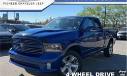 Make Ram Model 1500 Year 2014 Colour Blue kms 63871 Trans Automatic Price: $32,882 Stock Number: A2081 VIN: 1C6RR7HT0ES462081 Engine: 395HP 5.7L 8 Cylinder Engine Fuel: Gasoline Bluetooth, SiriusXM, Fog Lamps, Aluminum Wheels, Steering Wheel Audio
