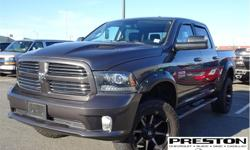 Make Ram Model 1500 Year 2014 Colour Grey kms 53323 Trans Automatic Price: $34,995 Stock Number: 9005651 VIN: 1C6RR7MT9ES404279 Interior Colour: Black Local, super clean, fully loaded, accident free history on Carfax.  Equipped with 5.7L engine