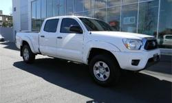 Make Toyota Model Tacoma Year 2014 Colour White kms 29480 Trans Automatic Price: $32,995 Stock Number: 160434A Engine: 4 Cylinders: 6 Fuel: Gasoline