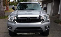 Make Toyota Year 2014 Colour Silver Trans Manual kms 27000 2014 Toyota Tacoma TRD OFF ROAD - 4x4 w/Diff lock - 6-speed manual with rear backup camera - Extended cab - am/fm/aux/cd w/screen -