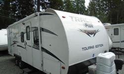 Come check out this, easy to tow ultra-lite, Tracer AIR! A special breed of travel trailer. The Tracer AIR was designed to be towed by many of today's cross-over, and mid-sized SUVs! This RV is located at: Arbutus RV & Marine Sales Ltd. *MILL BAY