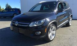 Make Volkswagen Model Tiguan Year 2014 Colour Black kms 74826 Trans Automatic Price: $29,995 Stock Number: B5282 Harbourview Autohaus is Vancouver Islands #1 Volkswagen dealership. A locally owned family business, The Wynia family have strived to make