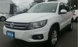 Make Volkswagen Model Tiguan Year 2014 Colour White kms 117465 Trans Automatic Price: $16,995 Stock Number: CP8565 VIN: WVGJV3AX4EW558565 Interior Colour: Black Engine: 2.0L Inline4 Turbo Engine Configuration: Inline Cylinders: 4 Fuel: Regular Unleaded