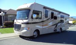 Only 5,000 klms  >> Thor Ace 30.2 motor coach class A, Reduced to $104,000 OBO Drop down double bed, master queen bed, couch /w bed, dinette booth, custom extra cabinets for storage and drawers. *** Full wall Slide *** Exterior has lots of storage