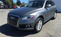 Make Audi Model Q5 Year 2015 Trans Automatic kms 40205 Price: $45,995 Stock Number: B5253 Harbourview Autohaus is Vancouver Islands #1 Volkswagen dealership. A locally owned family business, The Wynia family have strived to make customer service a