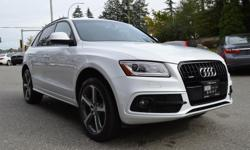 Make Audi Model Q5 Year 2015 Colour White kms 65626 Trans Automatic *NEW YEAR SALE* - $2,000 OFF - LOCAL BC VEHICLE DRIVEN AND SERVICED IN THE LOWER MAINLAND, ZERO ACCIDENTS, FULLY SERVICED & SAFETY INSPECTED! The 2015 Audi Q5 remains one of the most