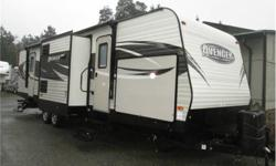 Price: $31,900 great triple slide bunk trailer , master bedroom in the rear , bunks in the front , centre kitchen with an island , outdoor kitchen as well.