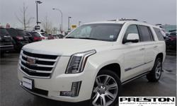 Make Cadillac Model Escalade Year 2015 Colour White kms 69237 Trans Automatic Price: $57,995 Stock Number: X25861 VIN: 1GYS4NKJ6FR634668 Interior Colour: Brown Best in class, symbol g sucess! The most luxerious ride. Clean accident free history on car