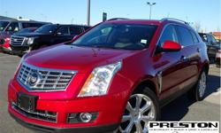 Make Cadillac Model SRX Year 2015 Colour Red kms 55364 Trans Automatic Price: $29,995 Stock Number: X25961 VIN: 3GYFNGE33FS582582 Interior Colour: Black Local, cleanSRX, sold and serviced at Preston GM, extra clean in and out, well kept by the
