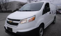 Make Chevrolet Model City Express Year 2015 Colour White kms 110005 Trans Automatic Stock #: BC0030802 VIN: 3N63M0ZNXFK718640 2015 Chevrolet City Express 1LT, Cargo Van, 2.0L, 4 cylinder, automatic, FWD, 4-Wheel AB, cruise control, AM/FM radio, CD player,