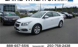 Make Chevrolet Model Cruze Year 2015 Colour Summit White kms 25940 Trans Automatic Price: $16,600 Stock Number: 95237 Interior Colour: Black Engine: Turbocharged Gas I4 1.4L/83 Cylinders: 4 Fuel: Gasoline This Chevrolet Cruze has a powerful Turbocharged