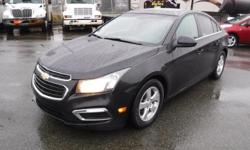 Make Chevrolet Model Cruze Year 2015 Colour Black kms 138656 Trans Automatic Stock #: BC0030787 VIN: 1G1PE5SB6F7222255 2015 Chevrolet Cruze 2LT Auto, 1.4L, 4 door, automatic, FWD, 4-Wheel ABS, cruise control, air conditioning, AM/FM radio, CD player,