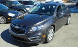 Make Chevrolet Model Cruze Year 2015 Colour Grey kms 37500 Trans Automatic OUR Stock: - 450+ used vehicles to choose from! - 300+ new vehicles to choose from! If you cannot find what you're looking for ask us and we will find it for you! Overview: Body
