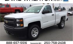 Make Chevrolet Model Silverado 1500 Year 2015 Colour Summit White kms 24753 Trans Automatic Price: $21,700 Stock Number: 107899 VIN: 1GCNCPEH0FZ316698 Interior Colour: Black Engine: Gas/Ethanol V6 4.3L/262 Cylinders: 6 Fuel: Flex Fuel Only 24,609 Miles!