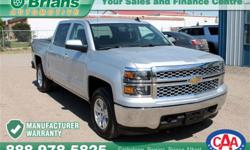 Make Chevrolet Model Silverado 1500 Year 2015 Colour Silver kms 33325 Trans Automatic Price: $37,995 Stock Number: 6903A Interior Colour: Grey Engine: 5.3L V8 Cylinders: 8 Fuel: Gasoline FREE WARRANTY 100PT INSPECTION ADDITIONAL WARRANTY AVAILABLE. $37995