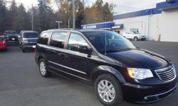 Make Chrysler Model Town & Country Year 2015 Colour Black kms 57975 Trans Automatic On Sale $22,390 2015 Chrysler Town and Country Touring Van with 57,975 km. This Van comes with Stow and and Go Seating Back Up Camera, Power-Operated Sliding Doors,