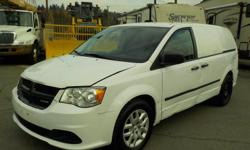 Make Dodge Year 2015 Colour White Trans Automatic kms 86890 Stock #: BC0030640 VIN: 2C4JRGAG5FR652061 2015 Dodge Caravan Cargo Van Base with Rear Shelving and Bulkhead Divider, 3.6L, 6 cylinder, automatic, FWD, cruise control, air conditioning, AM/FM