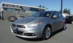 Make Dodge Model Dart Year 2015 Colour Silver kms 60805 Trans Automatic Price: $19,995 Stock Number: D20722 Interior Colour: Black Engine: 2.4L TIGERSHARK MULTIAIR I-4 Cylinders: 4 Fuel: Gasoline Accident Free, Clean 155 Point Inspection, Dual Climate