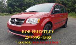 """Make Dodge Model Grand Caravan Year 2015 Colour RED kms 93207 Trans Automatic 2015 DODGE GRAND CARAVAN CVP I'm Rob Priestley, """"RED JACKET ROB"""" located at Bill Howich Chrysler: https://www.youtube.com/watch?v=r7W00pSmuvc This beautiful DODGE GRAND CARAVAN"""