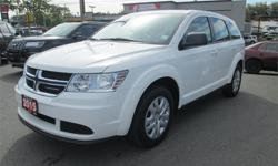 Make Dodge Model Journey Year 2015 Colour White kms 34042 Trans Automatic Price: $18,988 Stock Number: 16266A Interior Colour: Black Cylinders: 4 - Cyl Bought New at Wille Dodge, Economical 4 Cylinder, Remote Keyless Enrty, Power Windows and Locks.