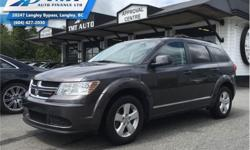 Make Dodge Model Journey Year 2015 Colour Grey kms 72878 Trans Automatic Price: $15,800 Stock Number: ZA4738 VIN: 3C4PDCAB5FT644738 Engine: 173HP 2.4L 4 Cylinder Engine Fuel: Gasoline Air Conditioning, Steering Wheel Audio Control, Aluminum Wheels, Power