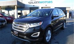 Make Ford Model Edge Year 2015 Colour Black kms 81254 Trans Automatic Price: $25,995 Stock Number: M24467A VIN: 2FMTK4J84FBB29297 Interior Colour: Black Engine: 3.5L V6 DIR DO Cylinders: 6 Fuel: Gasoline Galaxy Motors is the #1 used car dealership on