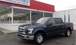 Make Ford Model F-150 Year 2015 Colour Blue kms 21148 Trans Automatic Price: $32,950 Stock Number: 124995 VIN: 1FTEW1EF2FFA43140 Interior Colour: Black Cylinders: 8 - Cyl Fuel: Gasoline This 2015 Ford F-150 XLT Supercrew 6 Passenger 4X4 5.5-Foot Short Box