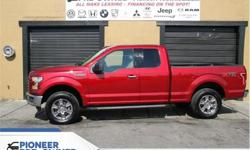 Make Ford Model F-150 Year 2015 Colour Red kms 92390 Trans Automatic Price: $29,288 Stock Number: HA6288 VIN: 1FTEX1E82FFB26288 Engine: 282HP 3.5L V6 Cylinder Engine Fuel: Gasoline Bluetooth, SiriusXM, Air Conditioning, Aluminum Wheels, Fog Lamps! Check
