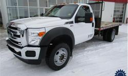 Make Ford Model F-550 Super Duty DRW Year 2015 Colour White kms 23358 Trans Automatic Price: $47,878 Stock Number: 124896 VIN: 1FDUF5HY5FED00521 Interior Colour: Black Cylinders: 10 - Cyl Fuel: Gasoline 6.8L, V10, Gas, Five Speed Automatic Transmission,