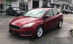 Make Ford Model Focus Year 2015 Colour Red kms 40307 Trans Manual Price: $14,450 Stock Number: BA6058 VIN: 1FADP3F24FL266058 Engine: 2.0L 4 Cylinder Engine Fuel: Gasoline Low Mileage, Bluetooth, Rear View Camera, SYNC, Air Conditioning, Aluminum Wheels!