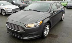 Make Ford Model Fusion Year 2015 Colour Grey kms 76724 Trans Automatic Stock #: BC0030657 VIN: 1FA6P0H70F5126884 2015 Ford Fusion SE, 2.5L, 4 door, automatic, FWD, 4-Wheel ABS, cruise control, CD player, back up camera, power door locks, power windows,