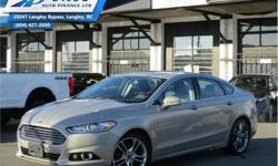 Make Ford Model Fusion Year 2015 Colour Brown kms 76925 Trans Automatic Price: $16,990 Stock Number: ZA0560 VIN: 3FA6P0D98FR270560 Engine: 231HP 2.0L 4 Cylinder Engine Fuel: Gasoline Leather Seats, Bluetooth, Heated Seats, Premium Sound Package, Rear View