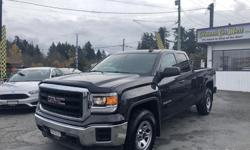Make GMC Model Sierra 1500 Year 2015 Colour Grey kms 66000 Trans Automatic WOW! Come check out this truck because it won't last long! Take look HERE at Colwood Car Mart! We are located at 1836 Island highway (right beside Thrifty Foods)