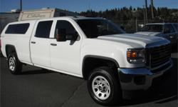 Make GMC Model Sierra 3500HD Year 2015 Colour White kms 22599 Price: $39,600 Stock Number: BC0027442 Interior Colour: Grey Cylinders: 8 Fuel: Gasoline 2015 GMC Sierra 3500HD Crew Cab Long Box 4WD, 6.0L, 8 cylinder, 4 door, automatic, 4WD, 4-Wheel AB,