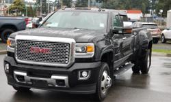 Make GMC Model 3500 Year 2015 Colour Black kms 91391 Trans Automatic 2015 GMC Sierra 3500HD Denali Dually Duramax Diesel 4x4 Crew Cab Long Box Leather seating Navigation Heated and Cooled Seats Heated Steering Wheel Lane Departure Warning, Forward