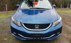 Make Honda Colour Blue Trans Automatic kms 56279 No Pressure sales. This is my hobby/past-time. Deal with me and experience the difference? ______________________________________________ VEHICLE: 2015 Honda Civic Touring CarProof: