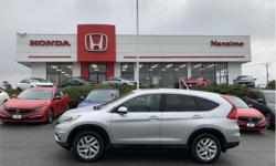 Make Honda Model CR-V Year 2015 Colour Modern Steel Metallic kms 49479 Price: $24,657 Stock Number: H16631A VIN: 2HKRM4H53FH124293 Very clean one owner CR-V. This vehicle was purchased and serviced at Nanaimo Honda. No accidents clean history is available