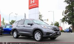 Make Honda Model CR-V Year 2015 Colour Grey kms 27800 Trans Automatic Price: $27,800 Stock Number: J0131 Interior Colour: Black Cloth Cylinders: 4 This 2015 CR-V SE AWD in Modern Steel Metallic is an One Owner, BC Vehicle, Automatic, Super Clean Black