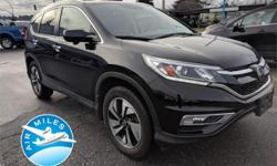 Make Honda Model CR-V Year 2015 Colour Black kms 92371 Price: $26,995 VIN: 5J6RM4H92FL801925 Interior Colour: Black ***Was $27995, Accident Free, BC SUV*** This2015 Honda CR-V is a five-passenger crossover SUV offered in the Touring trim level. Features