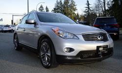 Make Infiniti Model QX50 Year 2015 Colour Silver kms 70652 Trans Automatic LOCAL BC VEHICLE, ZERO ACCIDENTS, BRAND NEW TIRES, AND LOADED WITH OPTIONS; Navigation, 360 Backup Camera, Heated Leather Seats, Bluetooth, Power Sunroof, Push to Start, 19""